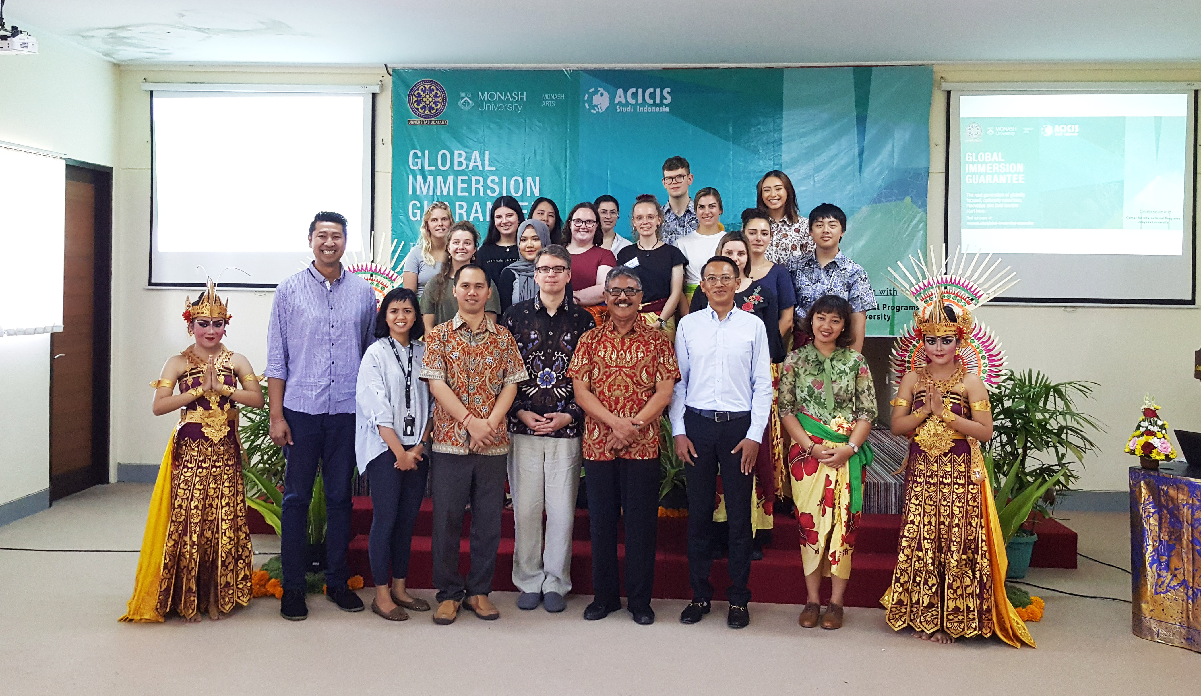 Monash Arts Global Immersion Guarantee 2019