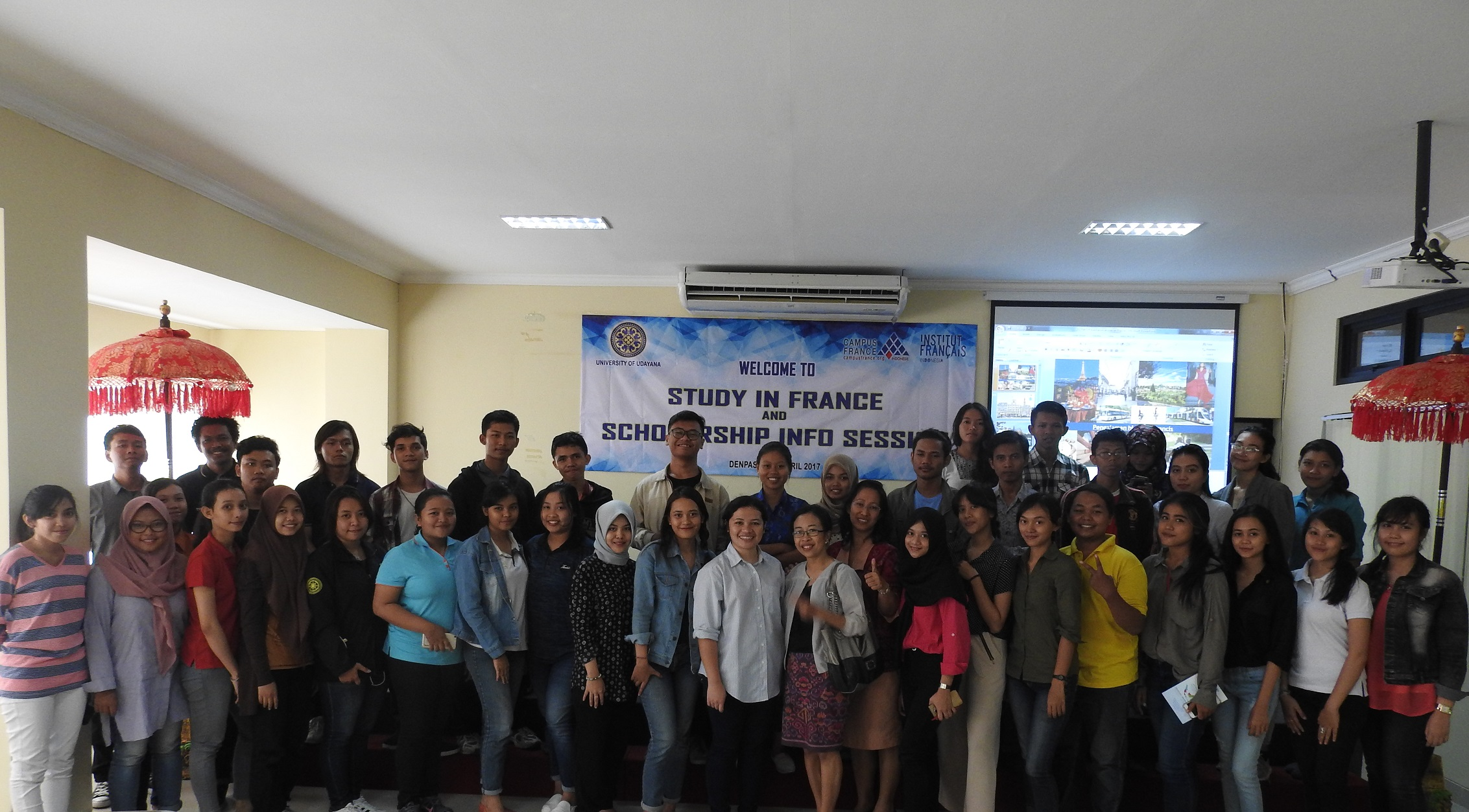 Seminar Study in France and Scholarship Info Session