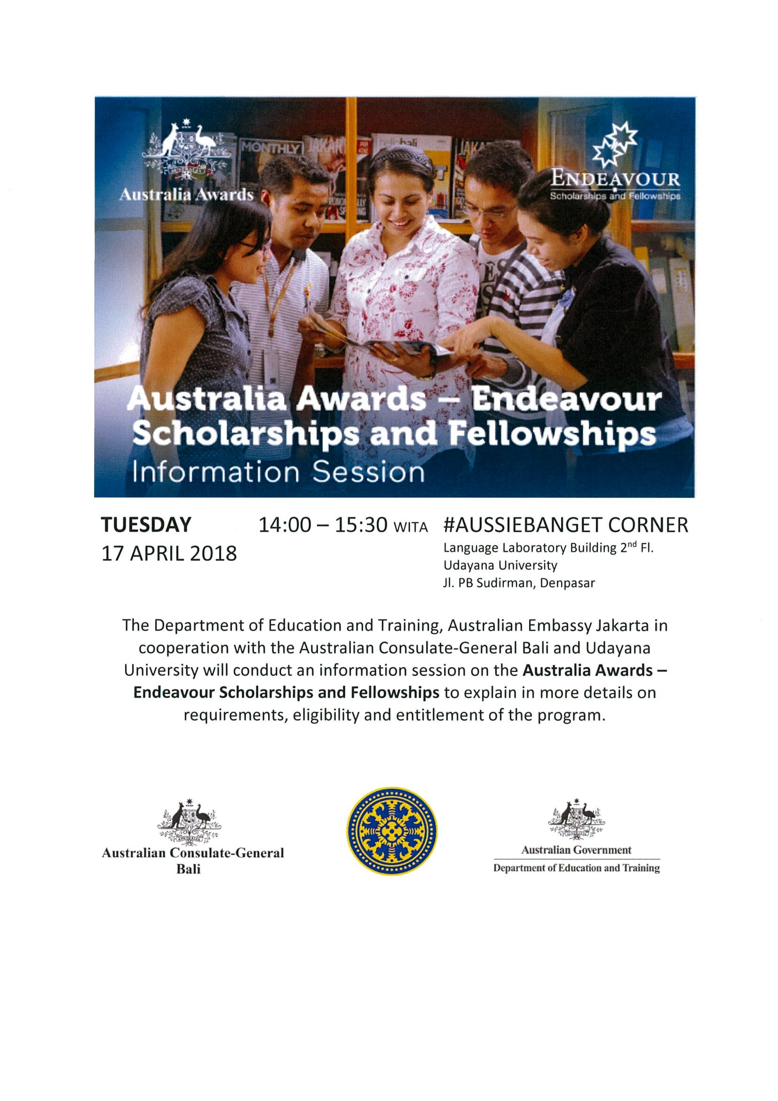 Endeavour Scholarships Info Session